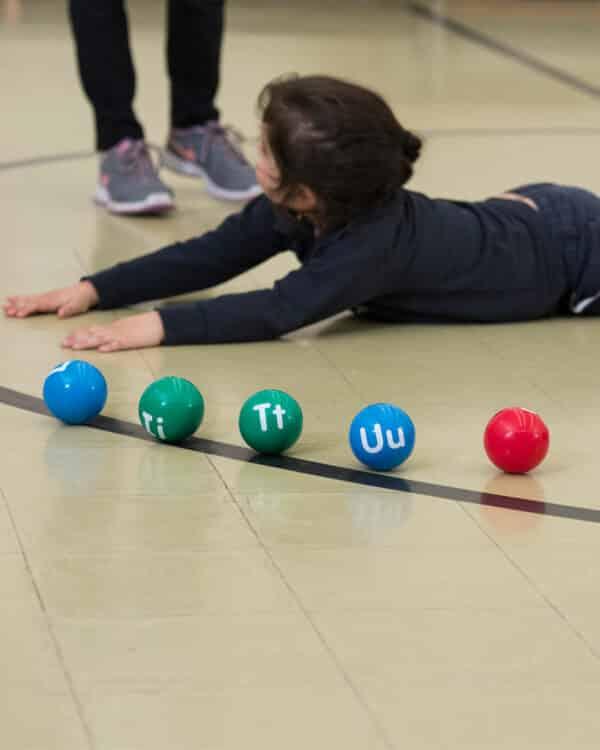 Alphaballs Gym Class