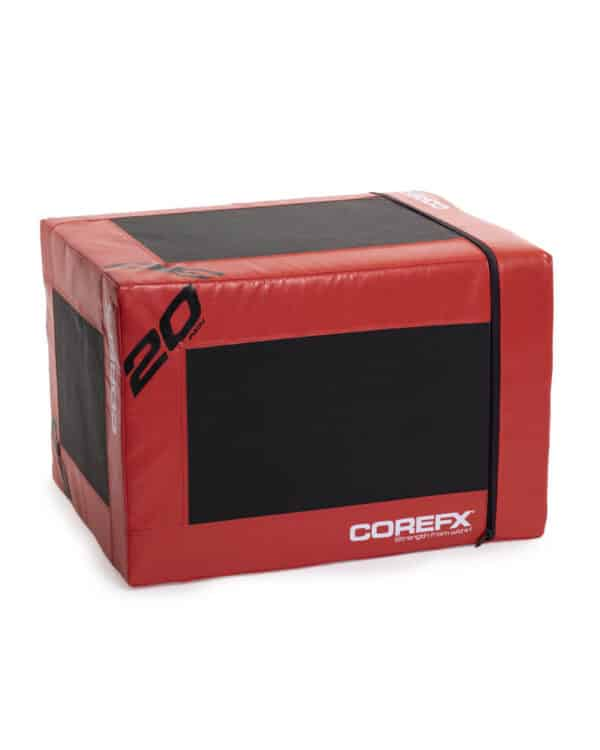 Close up look at the COREFX 3-in-1 Anti-Slip Foam Plyobox
