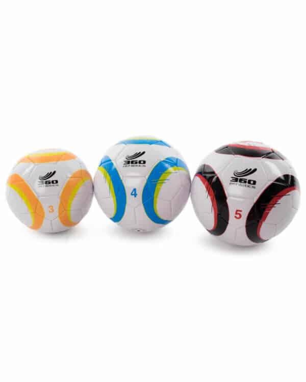 Attack Soccer Ball three sizes