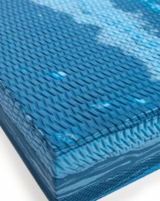 Close up of texture on balance pad