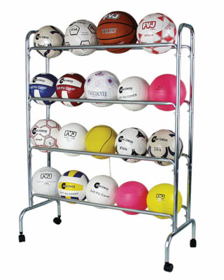 4 Tier Ball Storage Rack