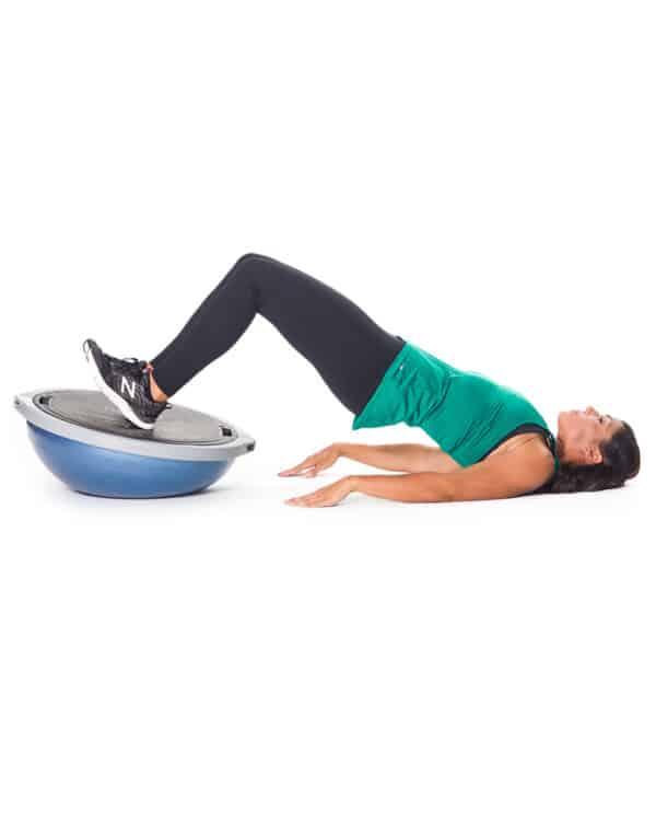 BOSU Balance Trainer Pro In Use