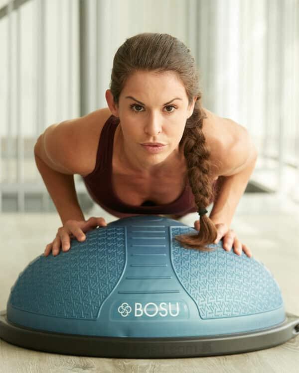 Woman planing on NexGen Home Balance Trainer