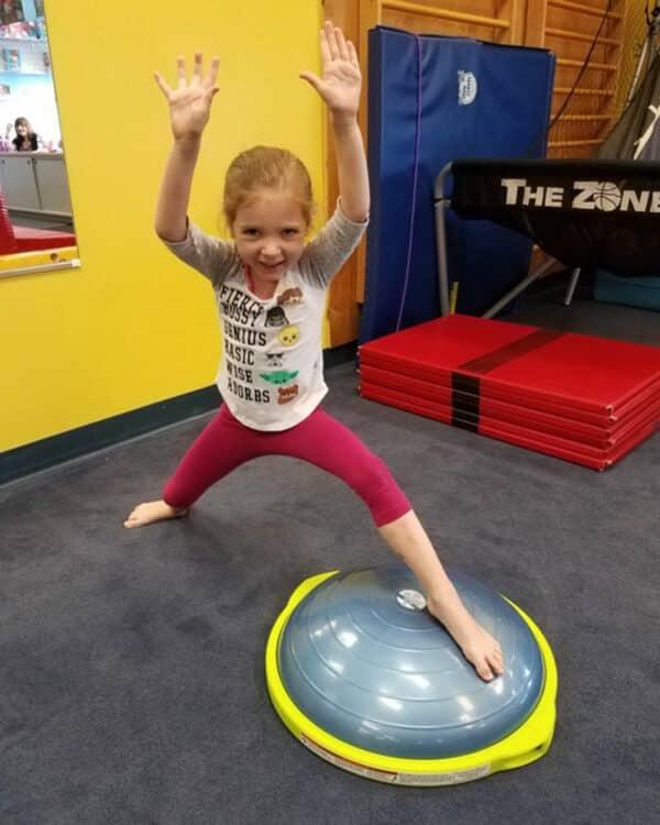 child balance exercise