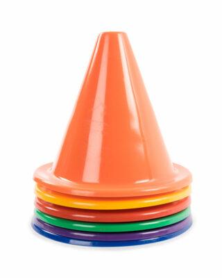 Rainbow Soft Cone Set stacked