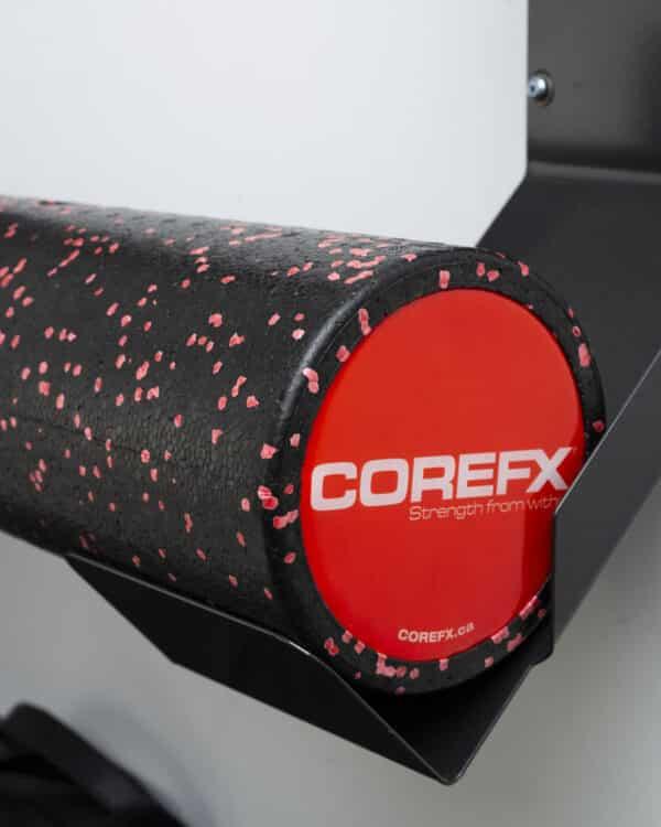 COREFX High Density Foam Roller storage