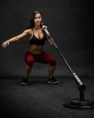 COREFX Landmine Post girl squat