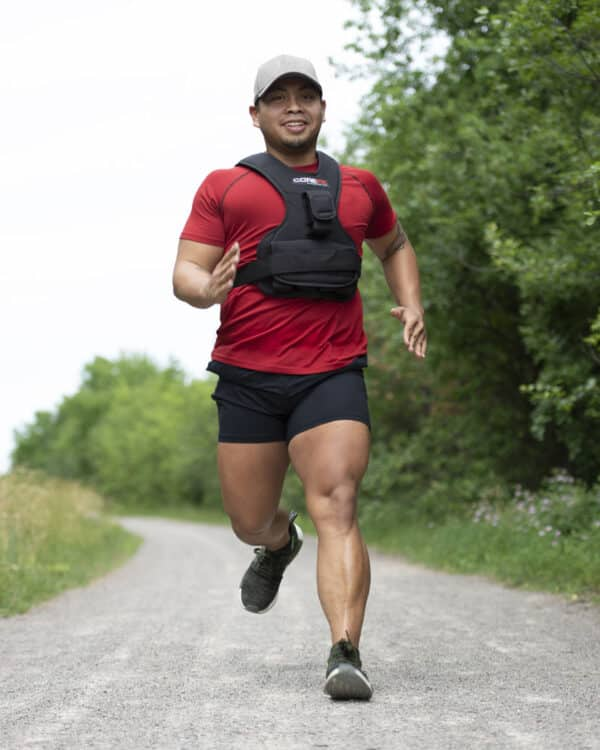 COREFX Weighted Vest male running