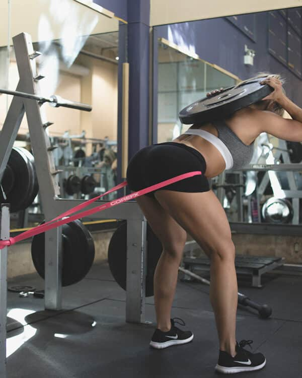 Hip thrust with the COREFX strength band