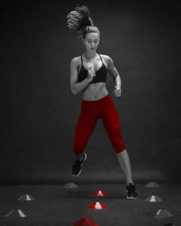 COREFX Training Cone Set woman running