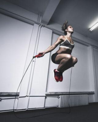 COREFX Speed Rope girl jumping