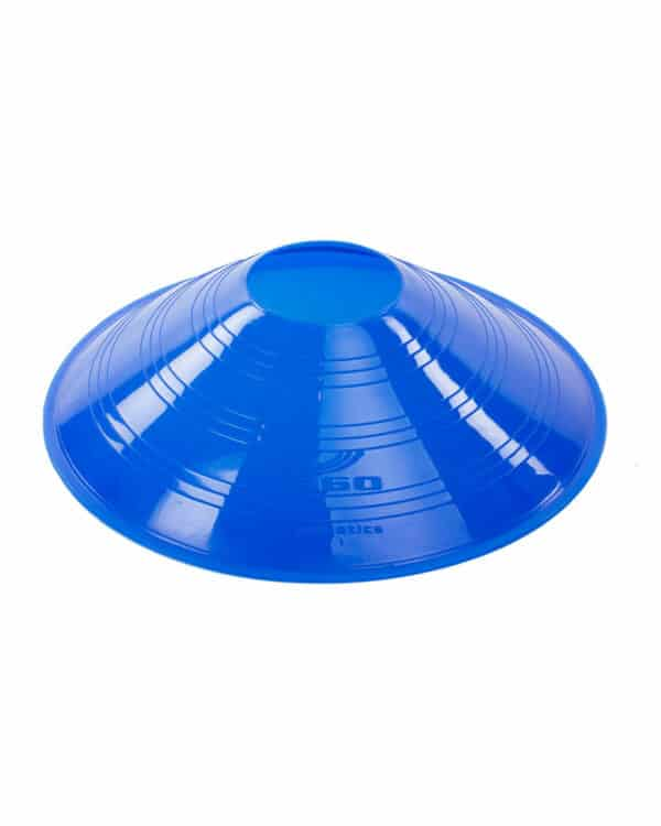 Blue Vinyl Saucer Cone