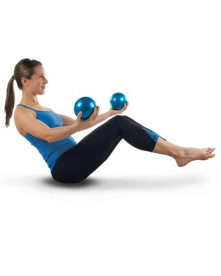 Weighted Yoga Balls Core Exercise