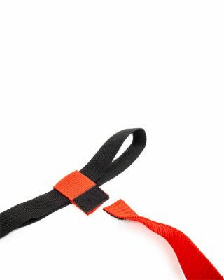 Flag Football Belt Red Close Up Product Shot