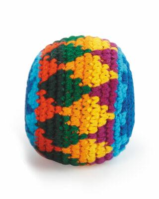 Crocheted Hackey Sack Product Shot