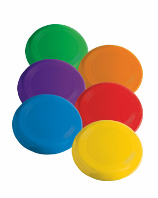 Plastic Flying Disc Set