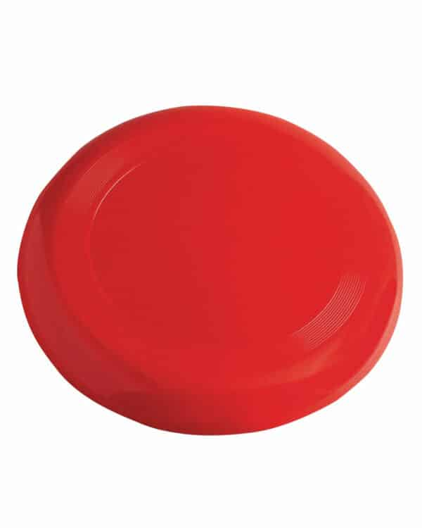 red flying disc
