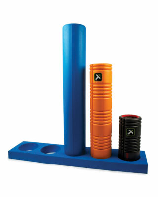 Foam Roller Stand with rollers
