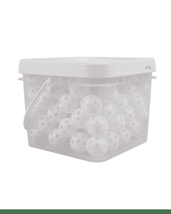Bucket of 100 Practice golf balls