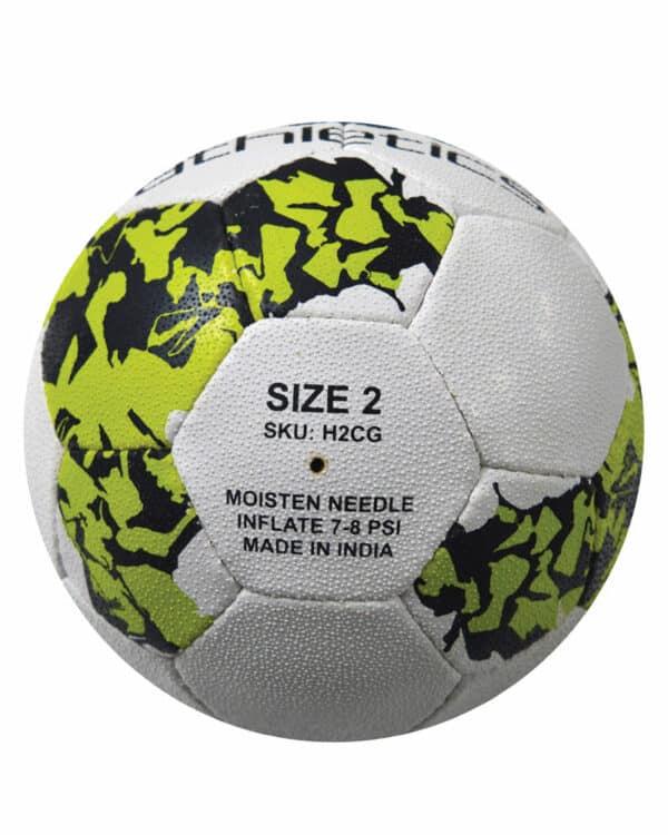 European Handball Size 2 Back Side