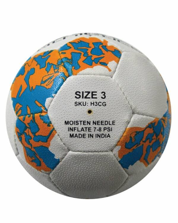 European Handball Size 3 Back Side