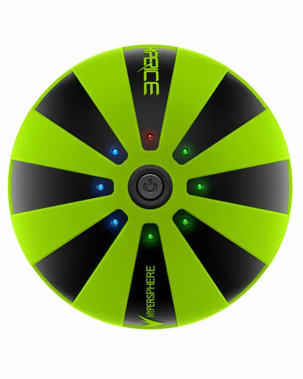 Green Hyperice Hypersphere product shot top view