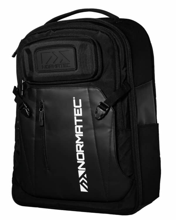 3/4 view of NormaTec Backpack