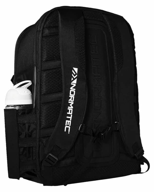 Back of NormaTec Backpack