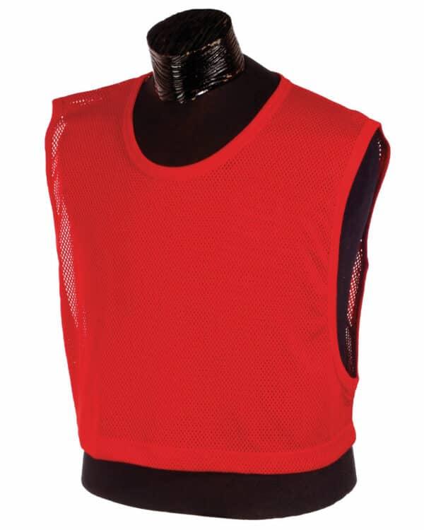 Red Oversized Scrimmage Vest