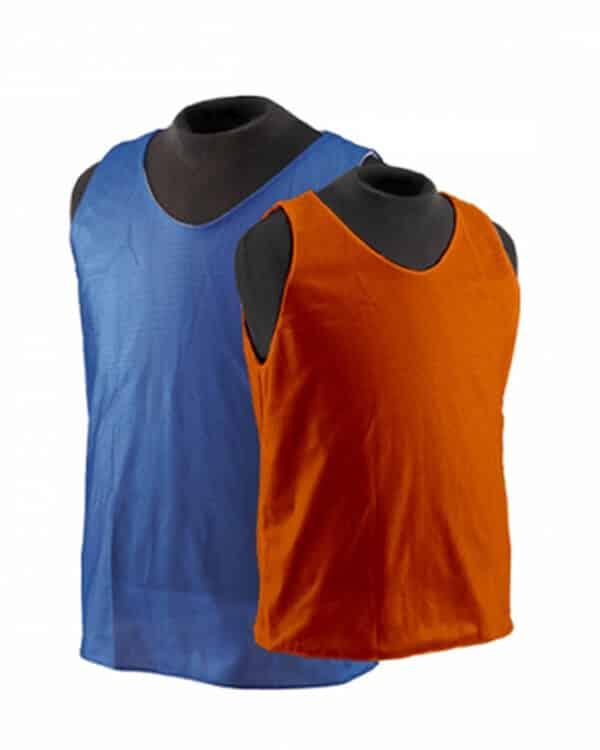 Royal Blue and Orange Reversible Scrimmage Vest