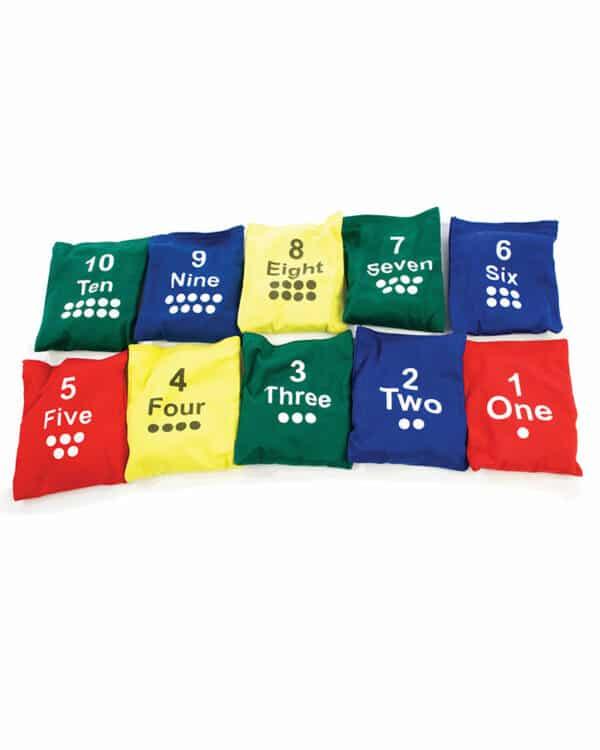 Numbered Bean Bag Set