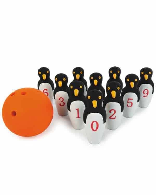 Penguin Bowling Ball Set