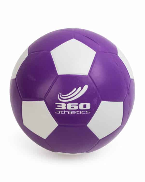 Purple Playground Series Soccer Ball