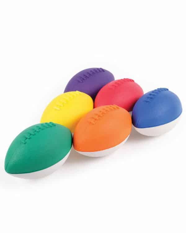 Mini Coated Foam Footballs