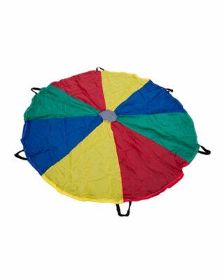Multi-Coloured Parachute layed flat