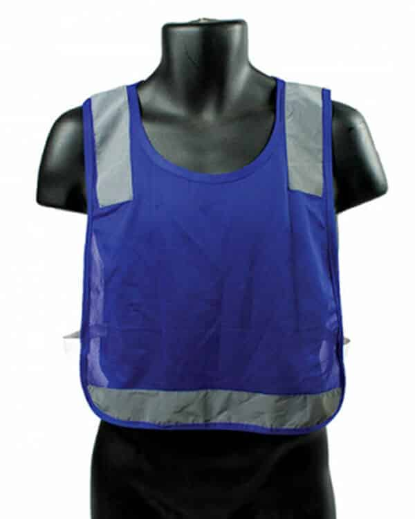 Blue Reflective Youth Pinnie