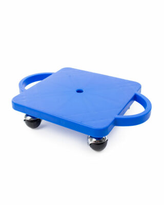 Blue Scooter Board with Handles