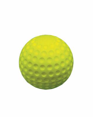Sponge Rubber Practice Golf Ball Yellow