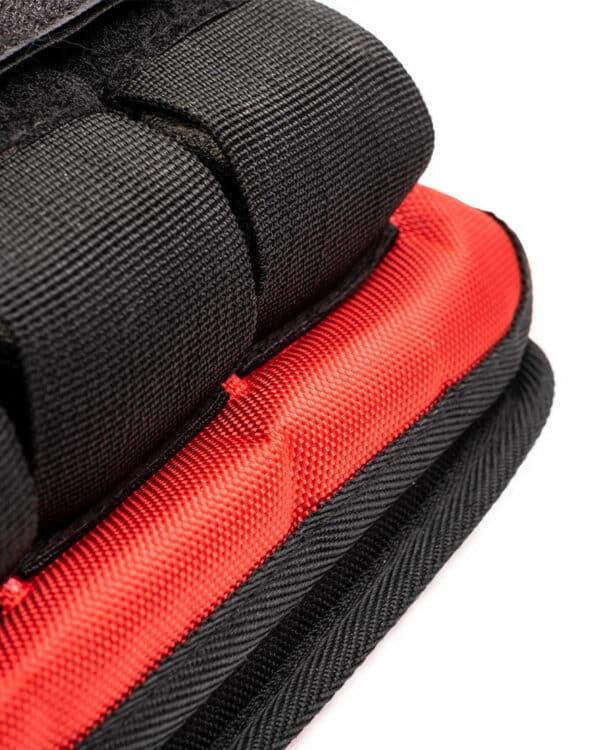 Adjustable weighted vest details