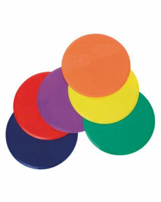 Rainbow Polyspot set of 6