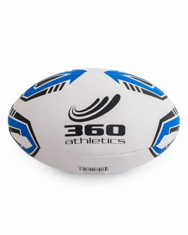 Front of match rugby ball