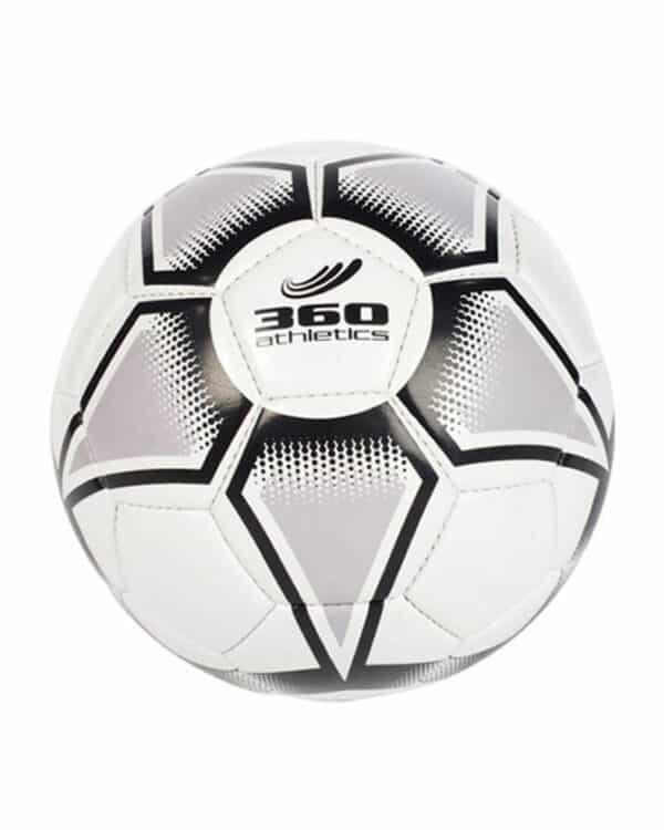 Size 5 Supernova Grey Soccer Ball