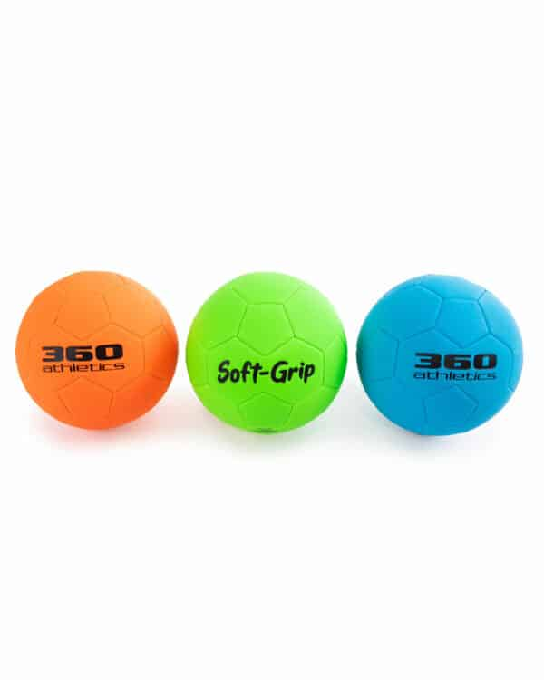 Soft-Grip Soccer Ball Set