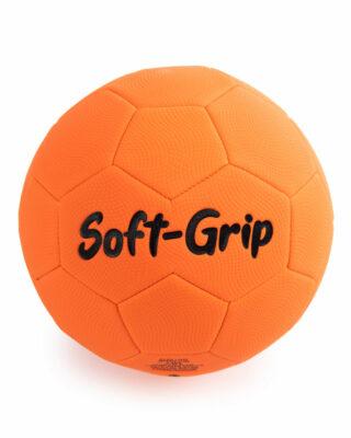 Soft-Grip Orange Soccer ball back