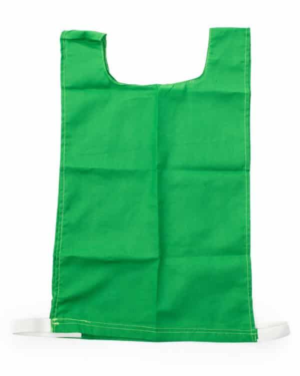 Green Cotton Pinnie