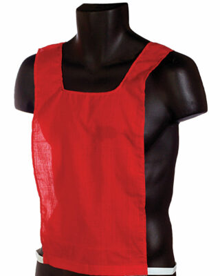 Red Cotton Pinnie