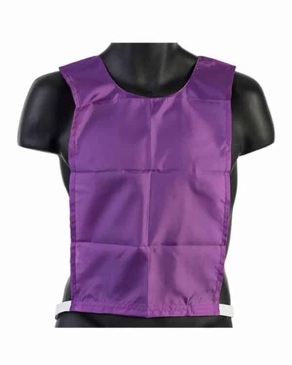 Junior Nylon Pinnie Purple