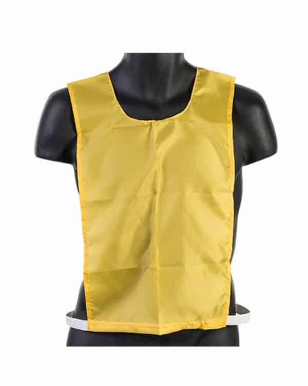 Junior Nylon Pinnie Yellow
