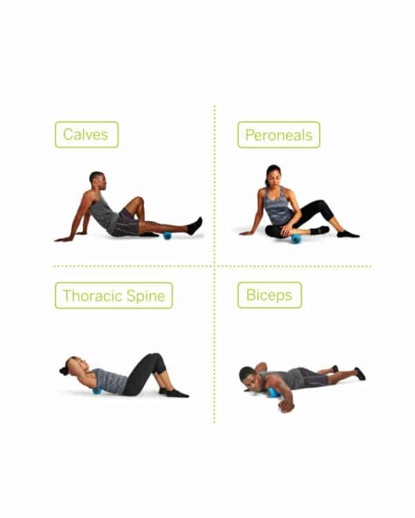 TriggerPoint CHARGE™ Vibe Recovery Positions