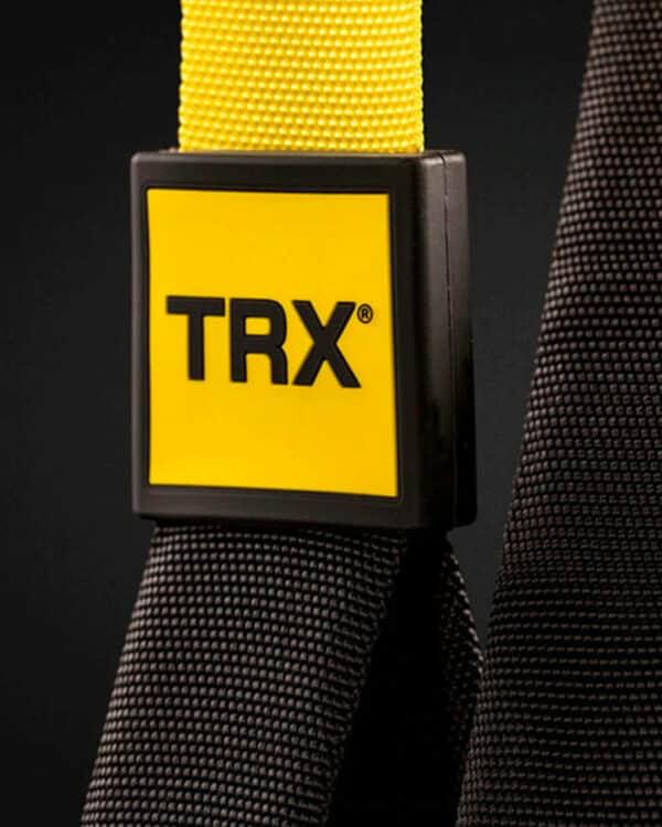 close up of TRX logo detailing